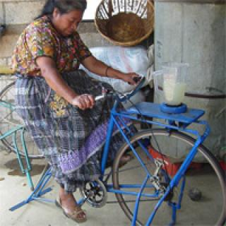de fietsblender